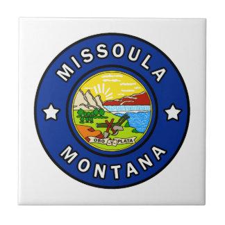 Azulejo De Cerámica Missoula Montana