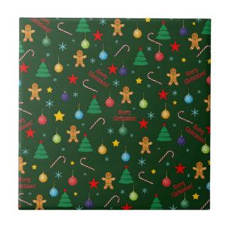 Azulejo De Cerámica Modelo del navidad