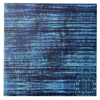 Azulejo De Cerámica Modelo del tejano azul oscuro