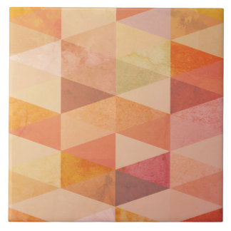 Azulejo De Cerámica Modelo geométrico del triángulo suave