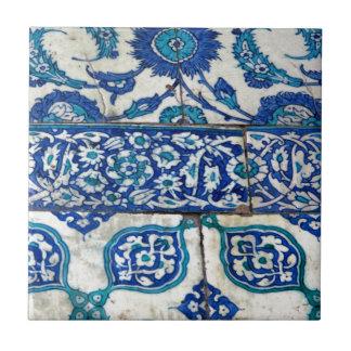 Azulejo De Cerámica Modelos azules y blancos del iznik clásico del