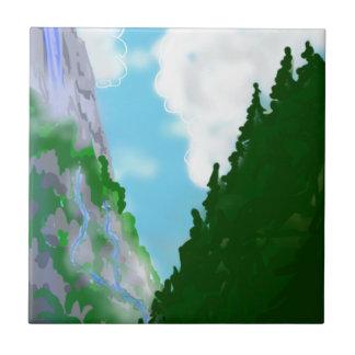 Azulejo De Cerámica Mountain View