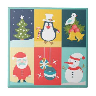 Azulejo De Cerámica Navidad seis