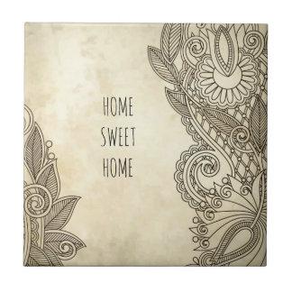 Azulejo De Cerámica Objetos de recuerdo caseros dulces caseros, regalo