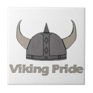Azulejo De Cerámica Orgullo de Viking