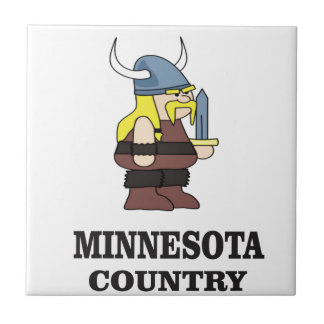 Azulejo De Cerámica País de Minnesota