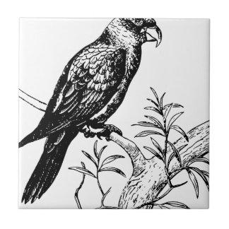 Azulejo De Cerámica Pájaro