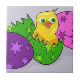 Azulejo De Cerámica Pascua feliz