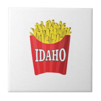 Azulejo De Cerámica patatas fritas de Idaho