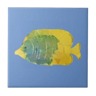 Azulejo De Cerámica Pescados geométricos