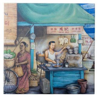 Azulejo De Cerámica Pintura de la calle