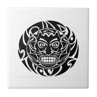 Azulejo De Cerámica Protector tribal