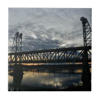 Azulejo De Cerámica Puente