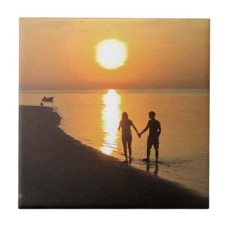 Azulejo De Cerámica Puesta del sol en Bali
