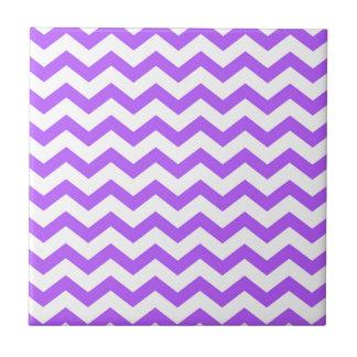 Azulejo De Cerámica rayas púrpuras del galón