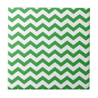 Azulejo De Cerámica rayas verdes del galón