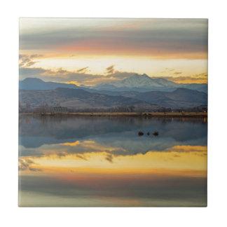Azulejo De Cerámica Reflexiones del lago McCalls