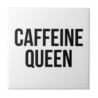Azulejo De Cerámica Reina del cafeína