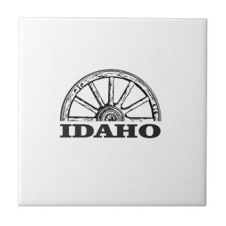 Azulejo De Cerámica Rueda de carro de Idaho