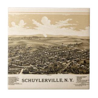Azulejo De Cerámica schuylerville1889