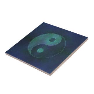 Azulejo De Cerámica Símbolo de Yin Yang