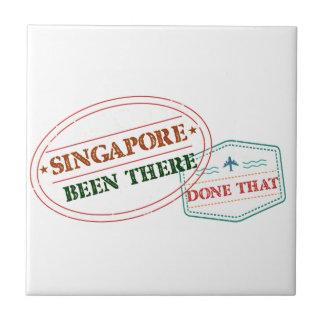 Azulejo De Cerámica Singapur allí hecho eso