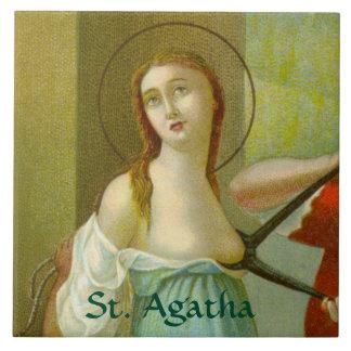 Azulejo De Cerámica St. Agatha (M 003)