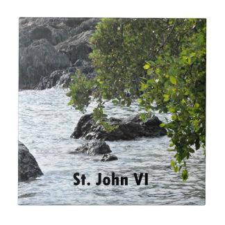 Azulejo De Cerámica St. John VI