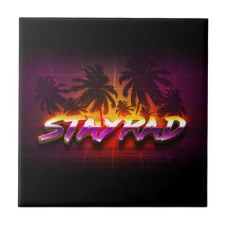 Azulejo De Cerámica StayRad 80s