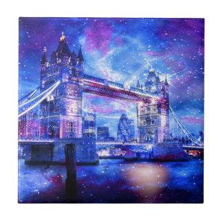 Azulejo De Cerámica Sueños de Londres del amante