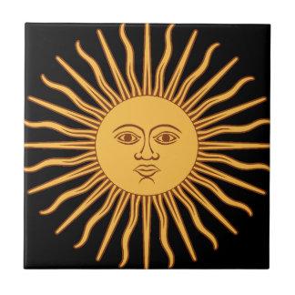 Azulejo De Cerámica Sun