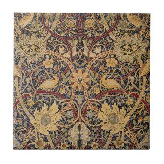 Azulejo De Cerámica Tapicería de Bullerswood del vintage