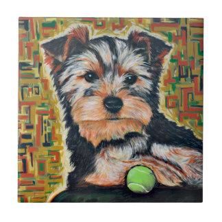 Azulejo De Cerámica Terrier