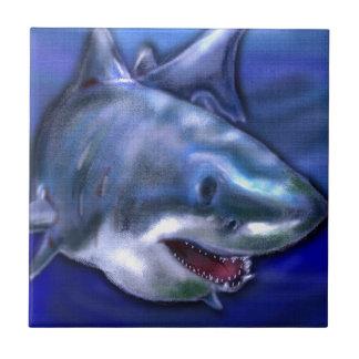 Azulejo De Cerámica Tiburón