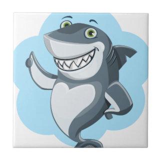 Azulejo De Cerámica Tiburón fresco
