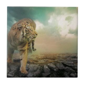 Azulejo De Cerámica Tigre grande
