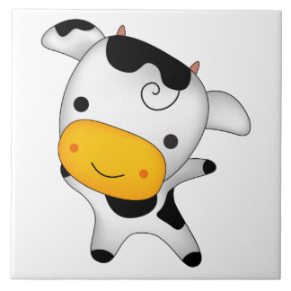Azulejo De Cerámica Vaca linda