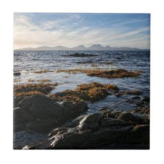 Azulejo De Cerámica Westcoast de Escocia, isla del Jura