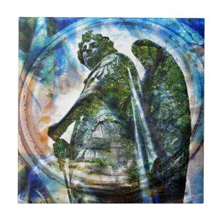 Azulejo De Cerámica ZenKitten - ángel romano clásico