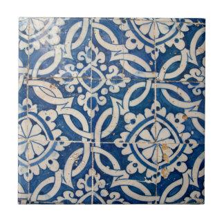 Azulejo del portugués del vintage