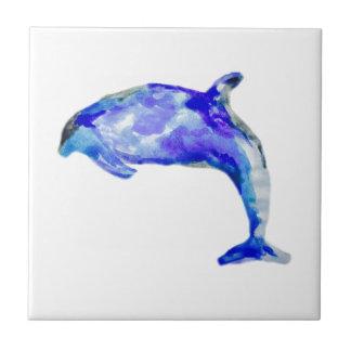 Azulejo Delfín azul Trivet
