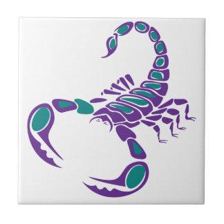 Azulejo Desierto azul del insecto del trullo púrpura de la