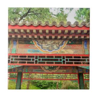 Azulejo Detalle del puente del palacio de verano