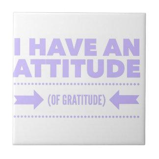 Azulejo Detox AA de la recuperación de la gratitud de la