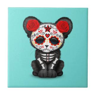 Azulejo Día rojo de la pantera negra muerta Cub