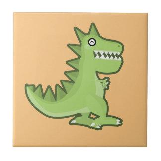 Azulejo Dinosaurio de Kawaii