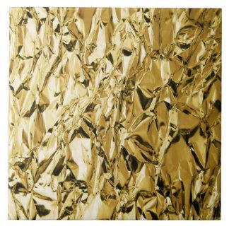 Azulejo Diseño abstracto plateado rizado del efecto