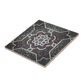 Azulejo Diseño adornado del mosaico de Alhambra