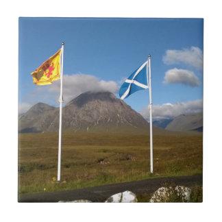 Azulejo dos banderas de Escocia
