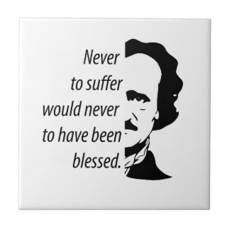 Azulejo Edgar Allan Poe